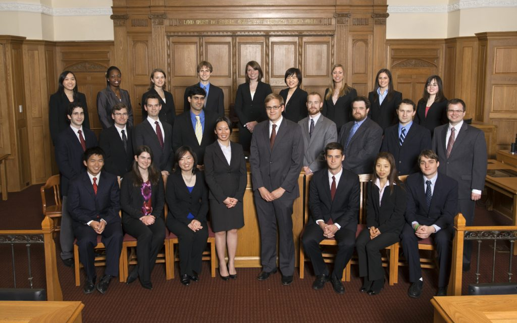 2010-2011 Bulletin Group Picture in Court room