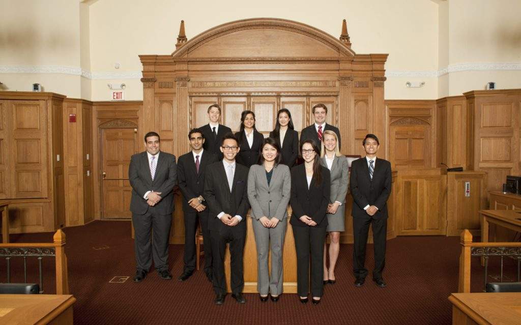 2011-2012 Bulletin Group Picture in Court room