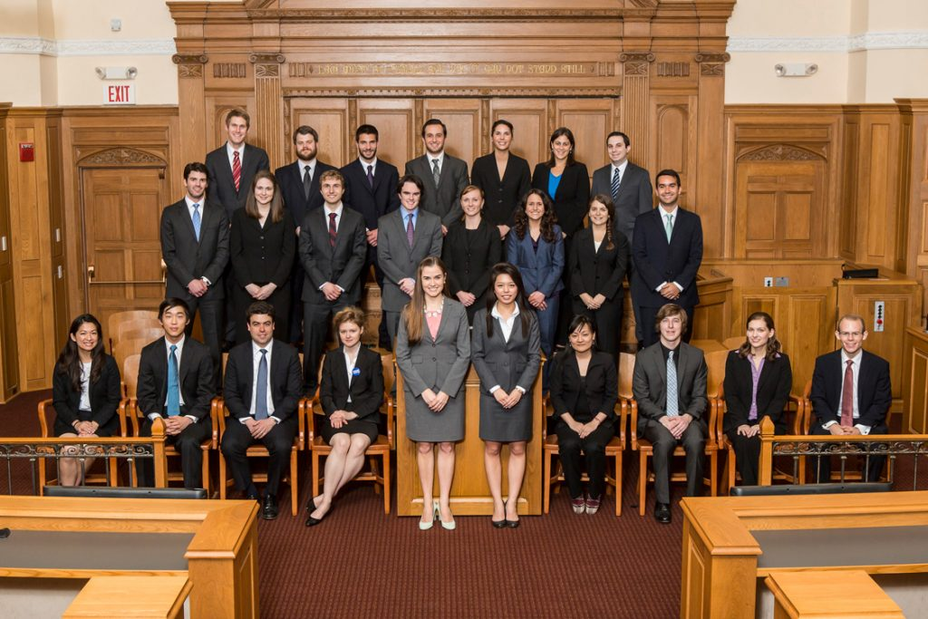 2012-2013 Bulletin Group Picture in Court room
