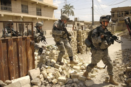U.S. Army soldiers in Iraq