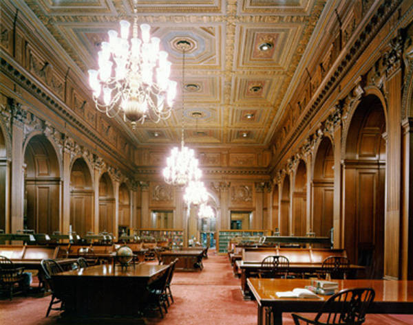 Supreme Court Library Reading Room
