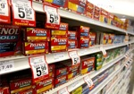 13875 boxes of tylenol cold medication are seen in a pharmacy in t