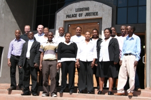 Lesotho scanning team