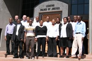Lesotho scanning team