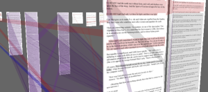 3-d visualization of hypertext documents in XanaduSpace™