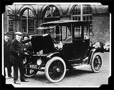 Thomas Edison and car