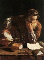 Legal scholar painting
