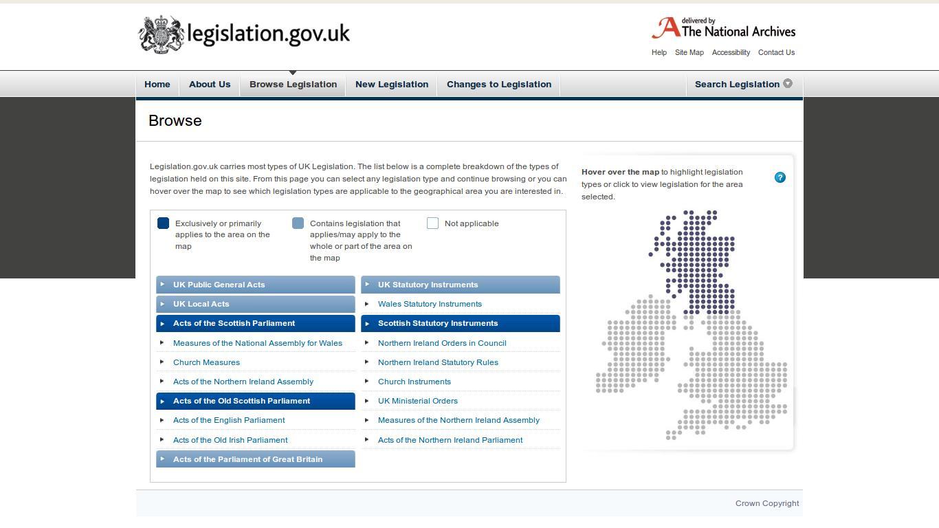 browse-legislation
