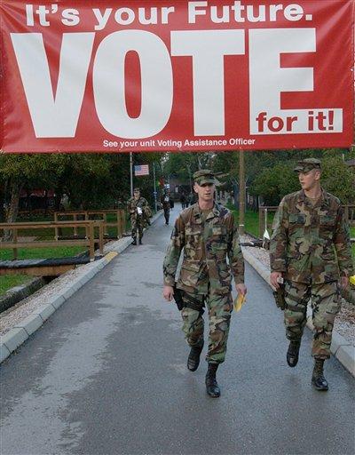 soldier vote