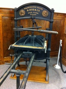 Printing Press at the GPO by Ed Walters - Licensed under a Creative Commons CC BY-NC 2.0 License