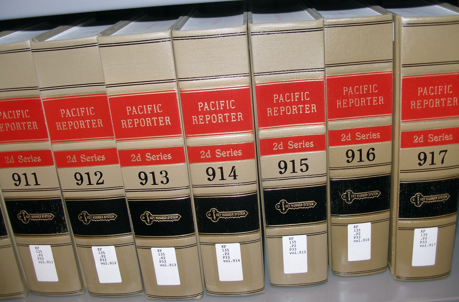 pacific reporter blue book citation