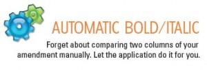 Automatic Bold Italic