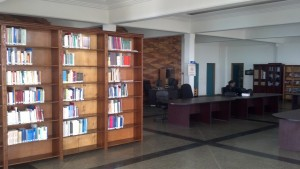 Law Library at the Parliament of the Republic of Rwanda in Kigali.